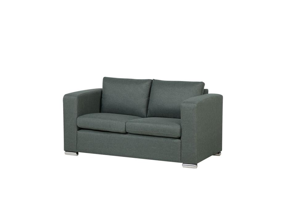 Canapea 2 locuri HELSINKI, tesatura gri