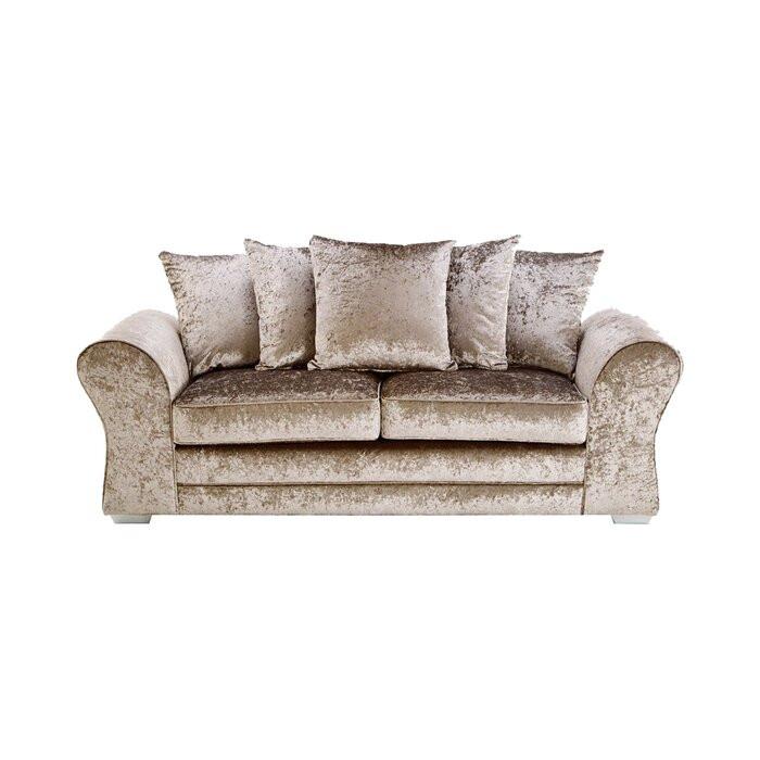 Canapea cu 3 locuri Kilpatrick, 89 x 206 x 90 cm