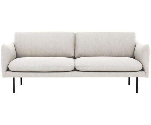 Canapea Moby cu 3 locuri, bej, 220 x 80 x 95cm