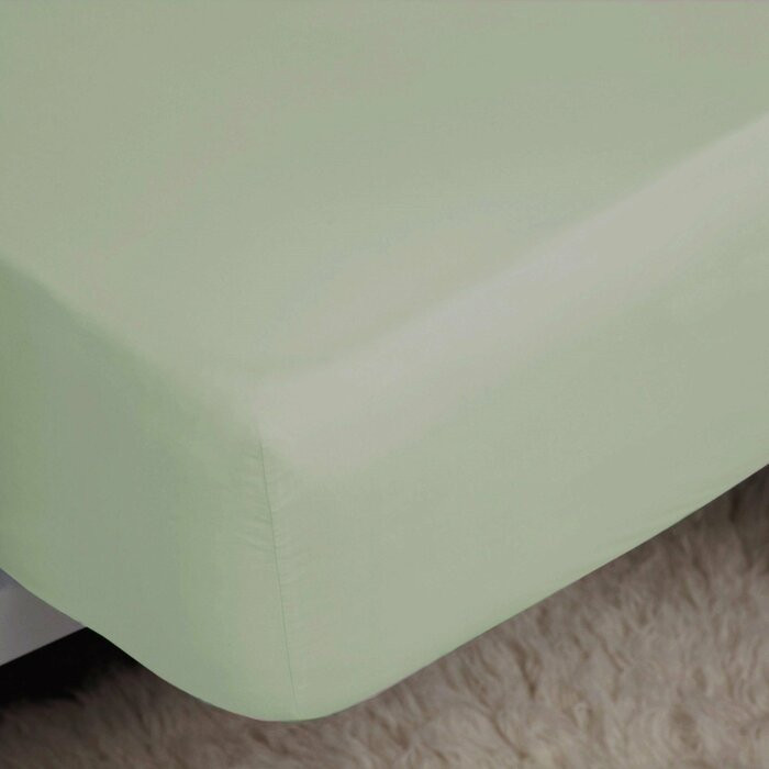 Cearceaf de pat, din bumbac de calitate egipteana, 183 x 198 cm