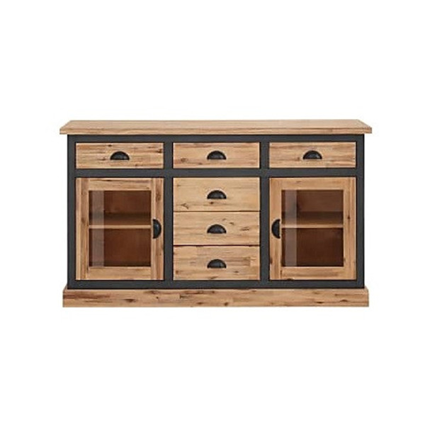 Comoda tip bufet »Juliane« Home Affaire, 150x40x86 cm, lemn masiv de salcam