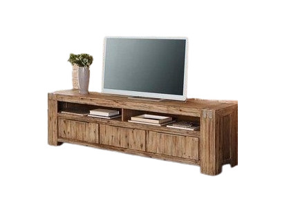 Comoda TV Home Affaire, lemn masiv de salcam, 200 x 45 x 58 cm imagine 2021 chilipirul zilei