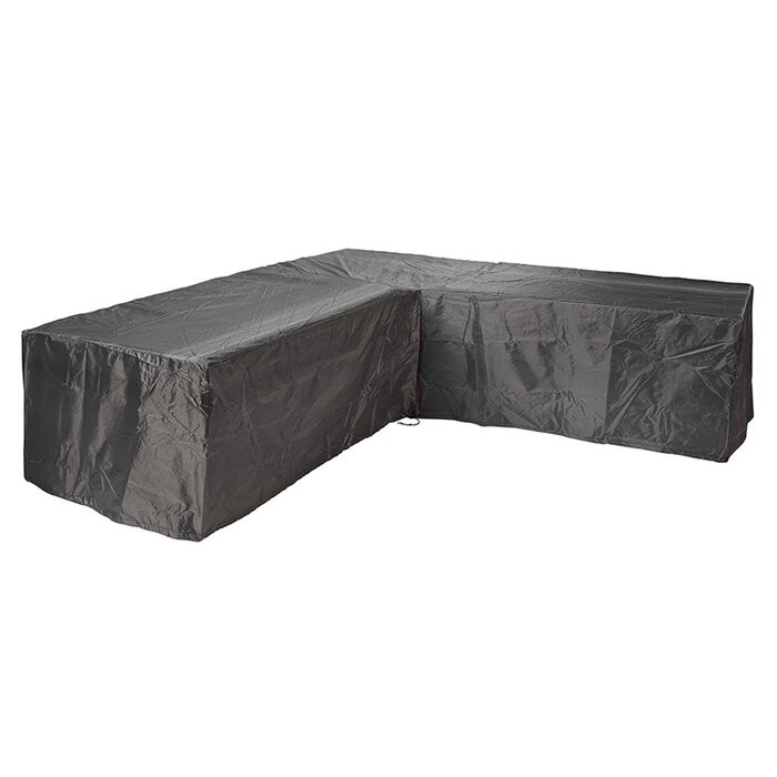 Husa impermeabila pentru mobila de terasa, Negru, 70 x 235 x 100 cm