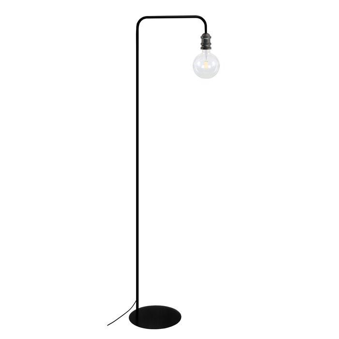 Lampadar Kincaid, metal, negru, 157 x 42 x 30 cm, 40w