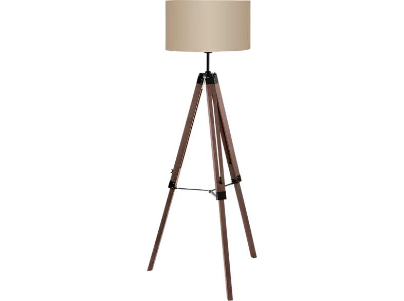 Lampadar Lantada, lemn/metal, maro, 70 x 150 cm, 60w imagine 2021 chilipirul zilei