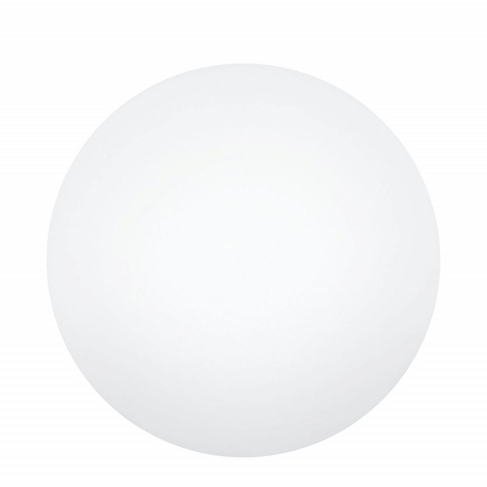 Lumina de exterior Diadema, plastic, alb, 25 x 25 x 25 cm