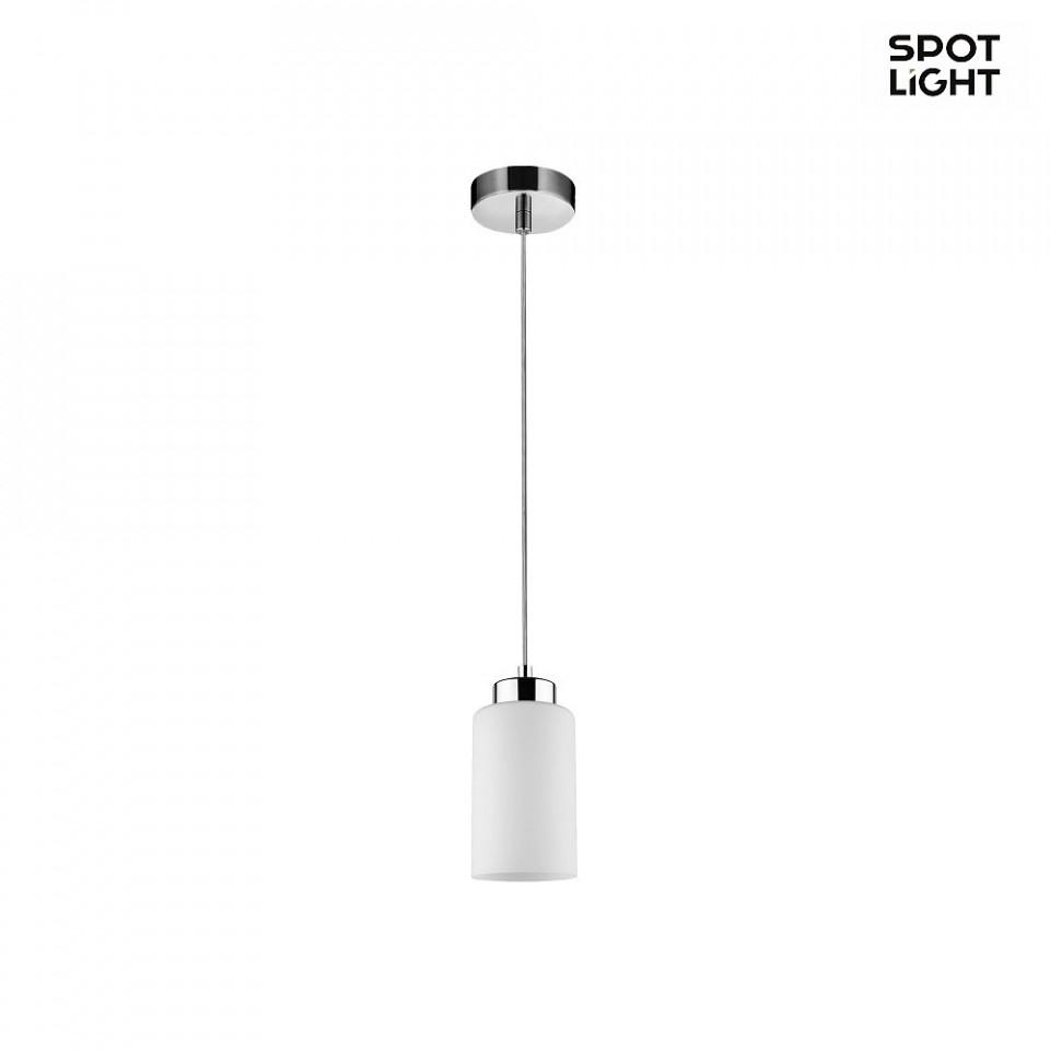 Lustra tip pendul Bosco I, metal/sticla, alba, 100 x 10 x 10 cm chilipirul-zilei 2021