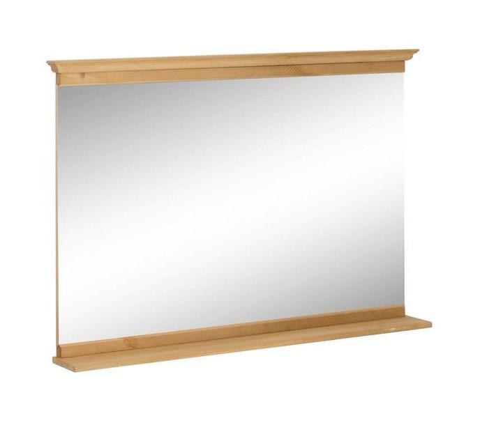 Oglinda pentru baie Home Affaire, cu rama de lemn poza chilipirul-zilei.ro