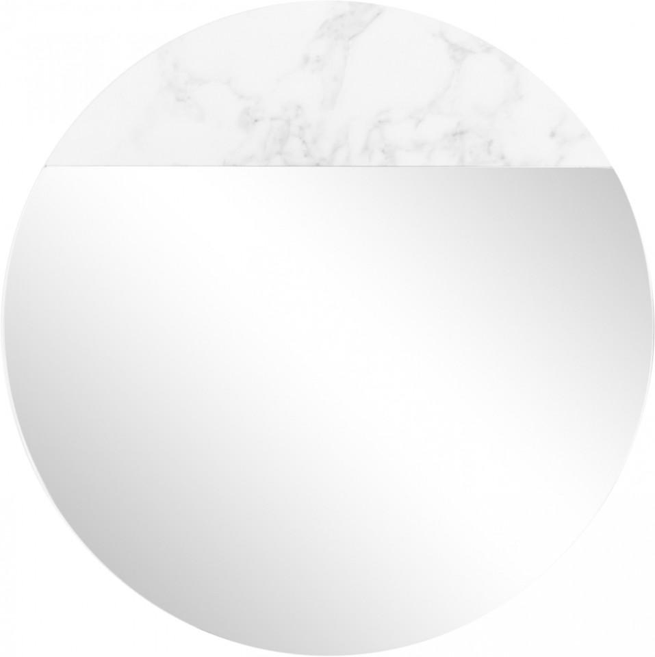 Oglinda Stockholm cu efect de marmura, d.40cm imagine 2021 chilipirul zilei