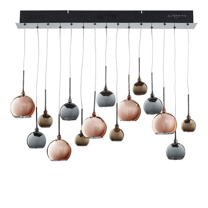 Pandantiv Ernestine cu 15 lumini