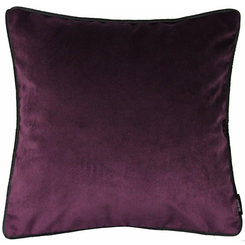 Pernă Deonte violet, 43 x 43 cm 2021 chilipirul-zilei.ro