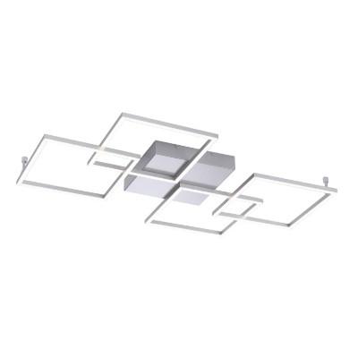 Plafoniera Inigo, aluminiu/sticla, 51 x 7 x 80 cm 2021 chilipirul-zilei.ro