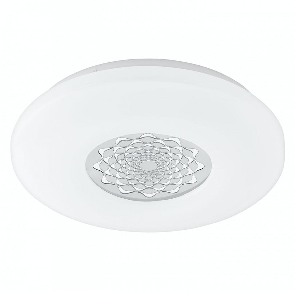 Plafoniera LED Capasso II plastic/otel, alb, 1 bec, diametru 34 cm, 230 V, 2765 K poza chilipirul-zilei.ro