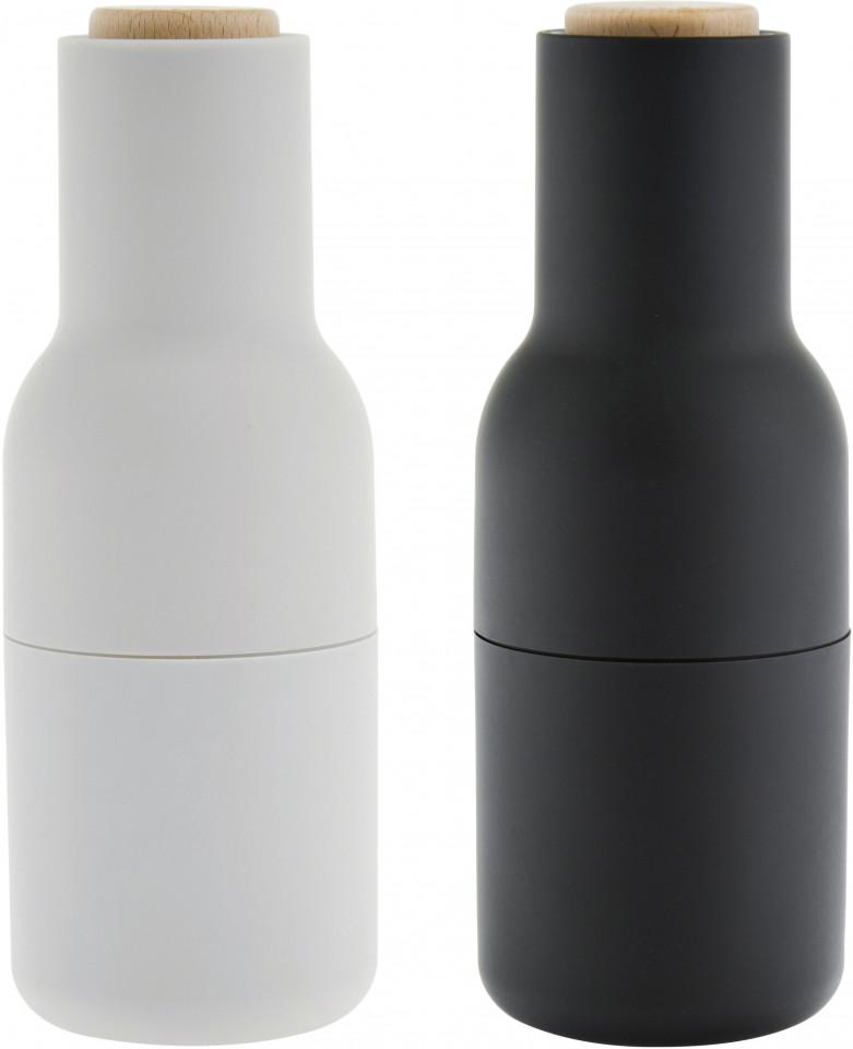 Set de 2 rasnite pentru condimente, gri/antracit, 8 x 21 cm imagine 2021 chilipirul zilei