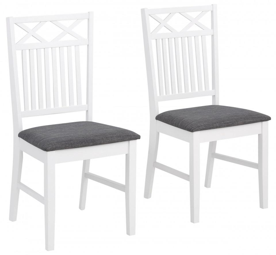 Set de 2 scaune Fullerton, lemn