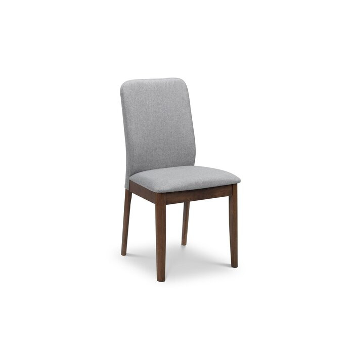 Set de 2 scaune tapitate Union, Gri, 89 x 48 x 50 cm 2021 chilipirul-zilei.ro