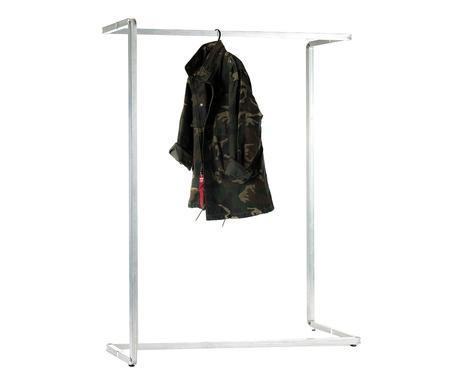 Stand pentru haine Plie din oțel, 120x40x160cm poza chilipirul-zilei.ro