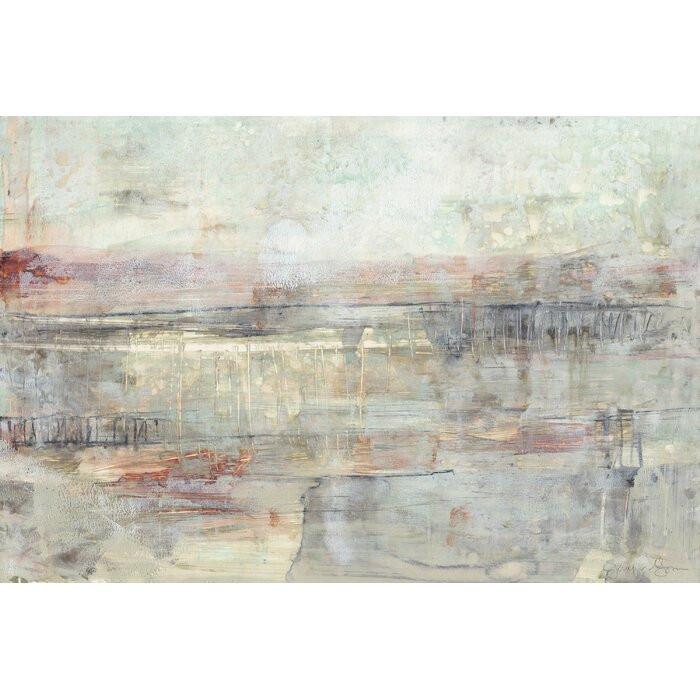 "Tablou ""Soft Scape III"", panza, 66 x 101 x 2 cm poza chilipirul-zilei.ro"