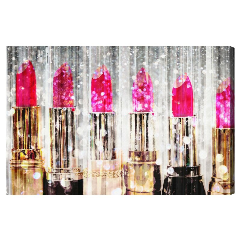 Tablou Lipstick Collection' by Art Remedy, 77 x 115 cm imagine 2021 chilipirul zilei