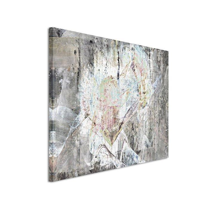 Tablou, panza, gri, 80 x 120 x 2 cm poza chilipirul-zilei.ro