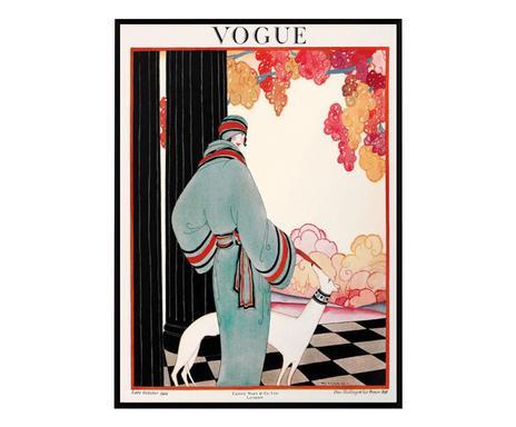 Tablou Vogue Vintage III, 50 x 70 cm poza chilipirul-zilei.ro