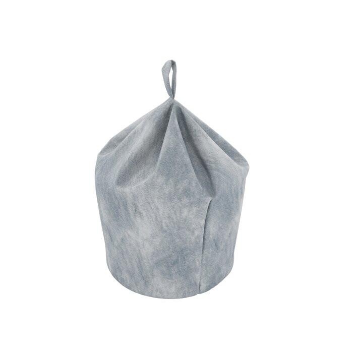 Taburet Pear, gri, 80 x 50 x 50 cm