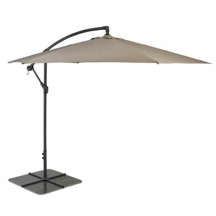 Umbrela de soare suspendata Amiya 3m
