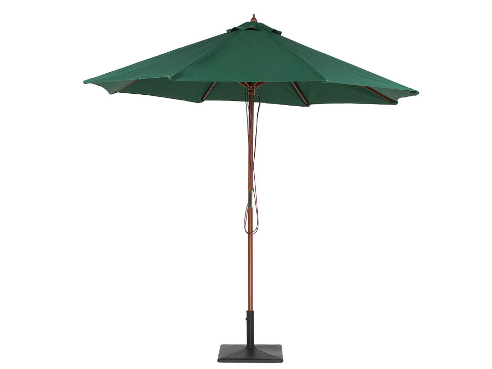 Umbrela de terasa TOSCANA, cu suport de lemn, D. 270 cm