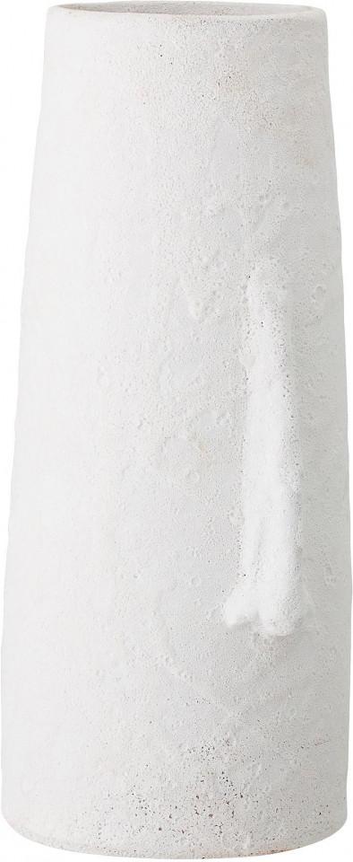 Vaza decorativa Nas, alba, 20 x 40 x 18 cm imagine 2021 chilipirul zilei