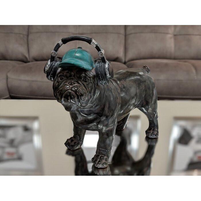 Bulldog Cool Dude, Negru, 21,5 x 11,4 x 24,5 cm