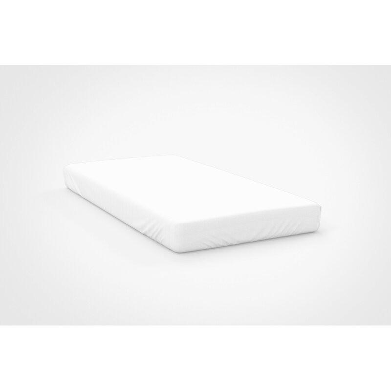 Cearsaf cu elastic, alb, 183 x 198 cm chilipirul-zilei.ro