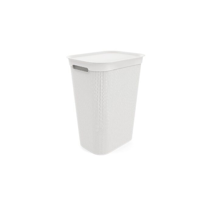 Cos de rufe, plastic, alb, 52,9 x 43,1 x 34 cm chilipirul-zilei 2021