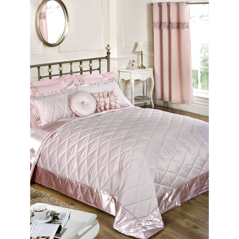 Cuvertura Bowdoin roz, 264 x 264 cm