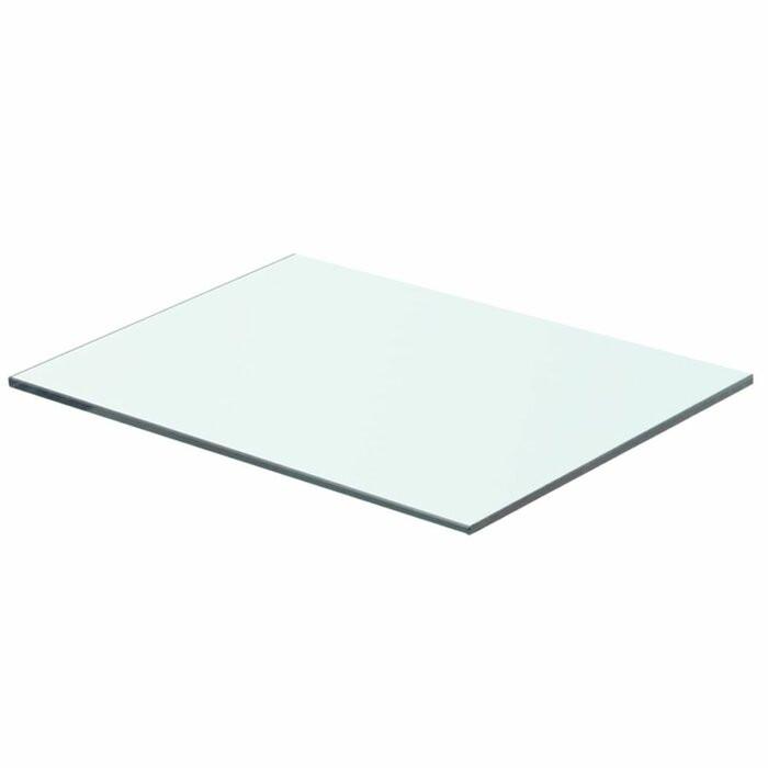 Etajera, sticla, 0,8 x 40 x 25 cm