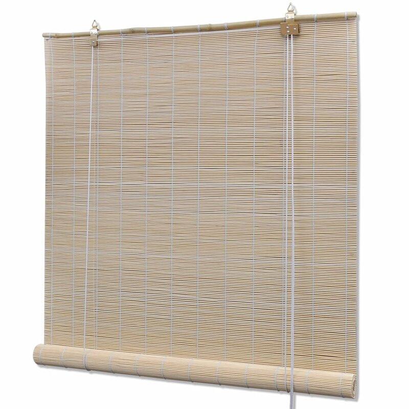 Jaluzea Darkening din bambus, 80 x 220 cm