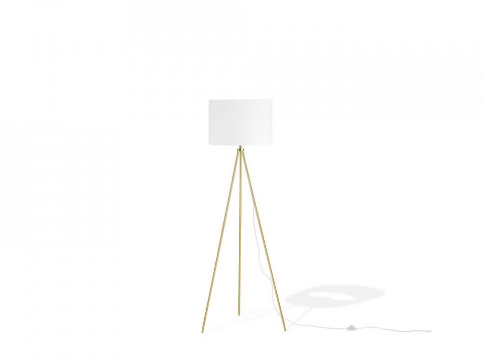 Lampadar Vistula alb / auriu, 148 x 40cm imagine 2021 chilipirul zilei