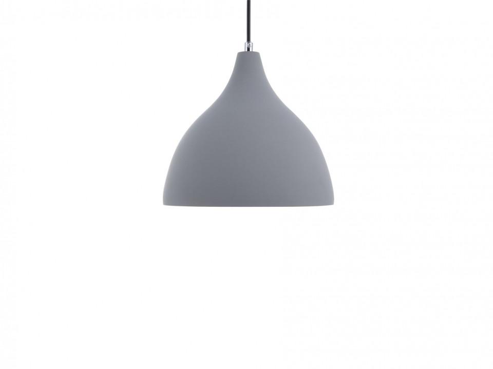 Lustra tip pendul LAMBRO, PVC, gri, 121 x 23 x 23 cm, 40w