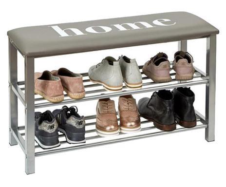 Pantofar tip bancă Riley, 48 x 31 x 80.5 cm