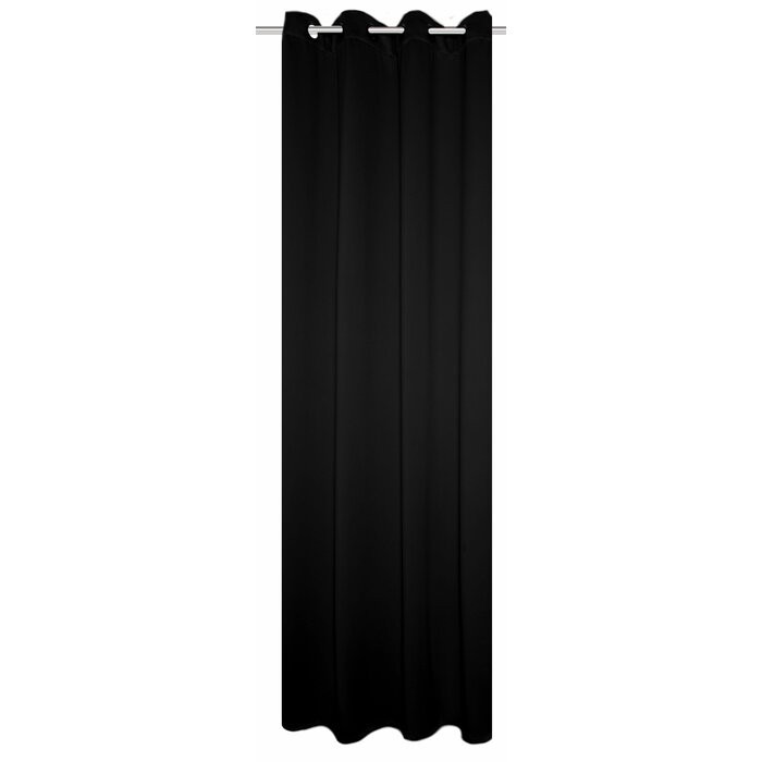Perdea Bellefonte, Neagra, 135 x 245 cm chilipirul-zilei 2021