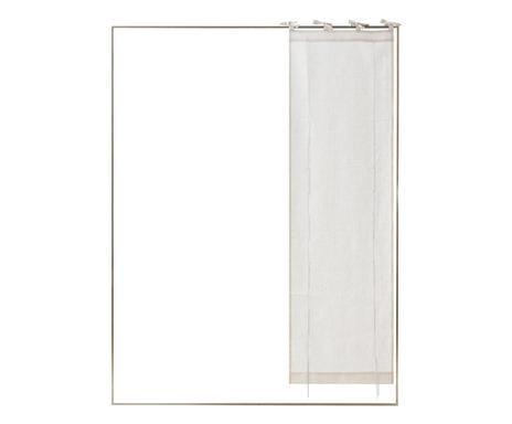 Perdea St Tropez bianco, 45x150 cm