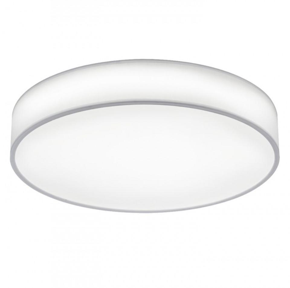 Plafoniera LED Lugano, bumbac, 1 bec, alb, diamentru 60 cm, 230mV, 40 W