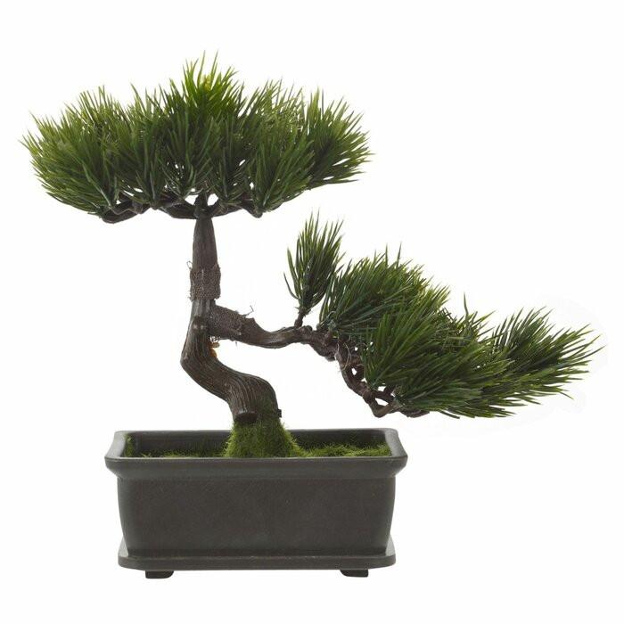 Planta artificiala Bonsai în ghiveci poza chilipirul-zilei.ro