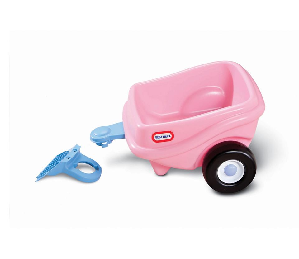 Remorca Cosy Coupe Little Tikes, roz chilipirul-zilei 2021