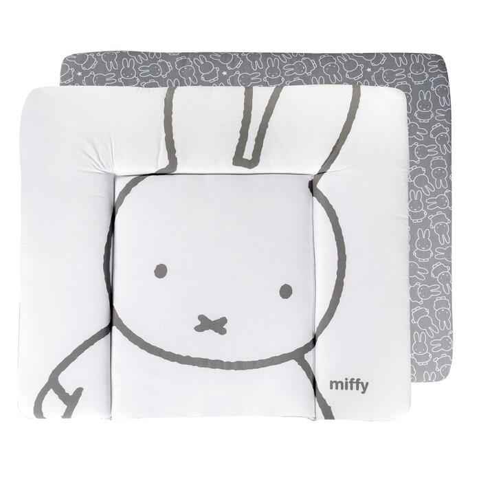 Salteluta de schimbat Miffy, bumbac, alba, 4 x 85 cm chilipirul-zilei 2021