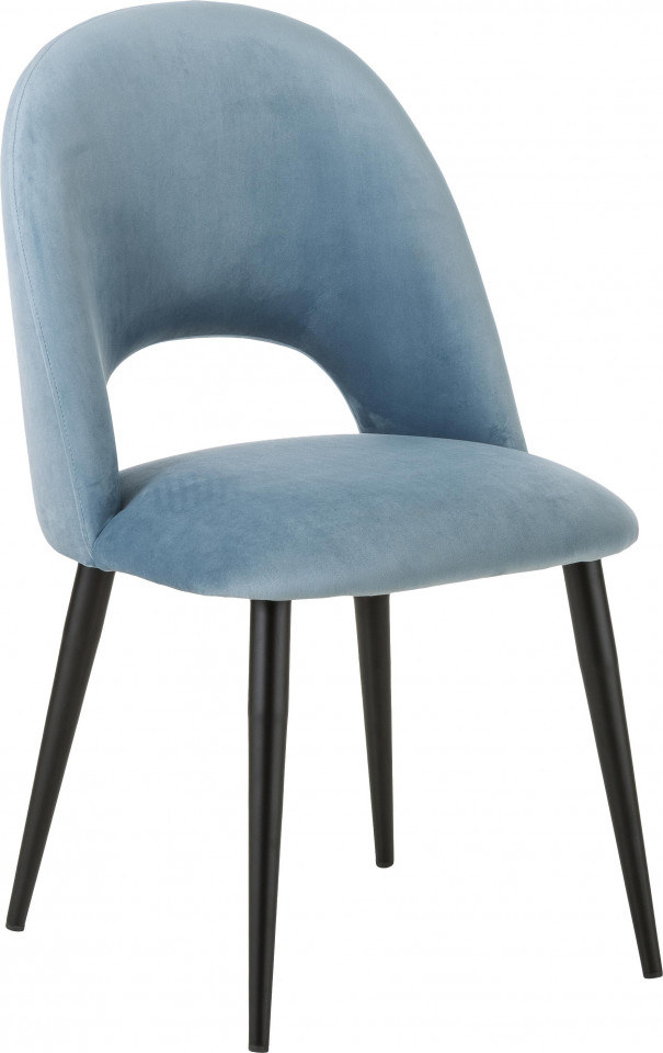 Scaun Rachel, albastru/negru, 53 x 89 x 57 cm chilipirul-zilei 2021