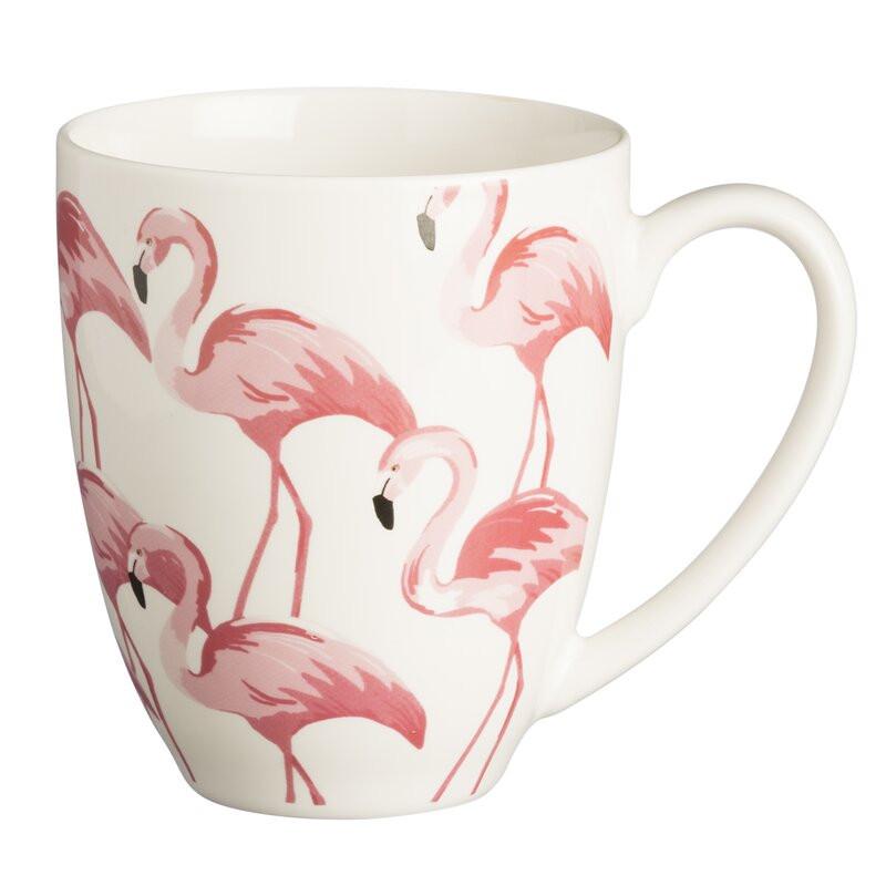 Set de 2 cani Flamingo, 380ml 2021 chilipirul-zilei.ro
