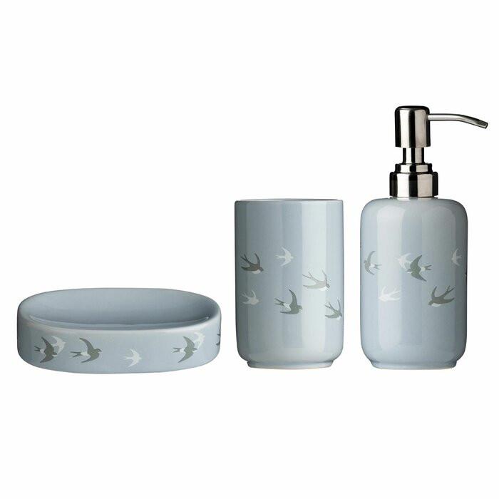 Set de 3 accesorii pentru baie, Cutler