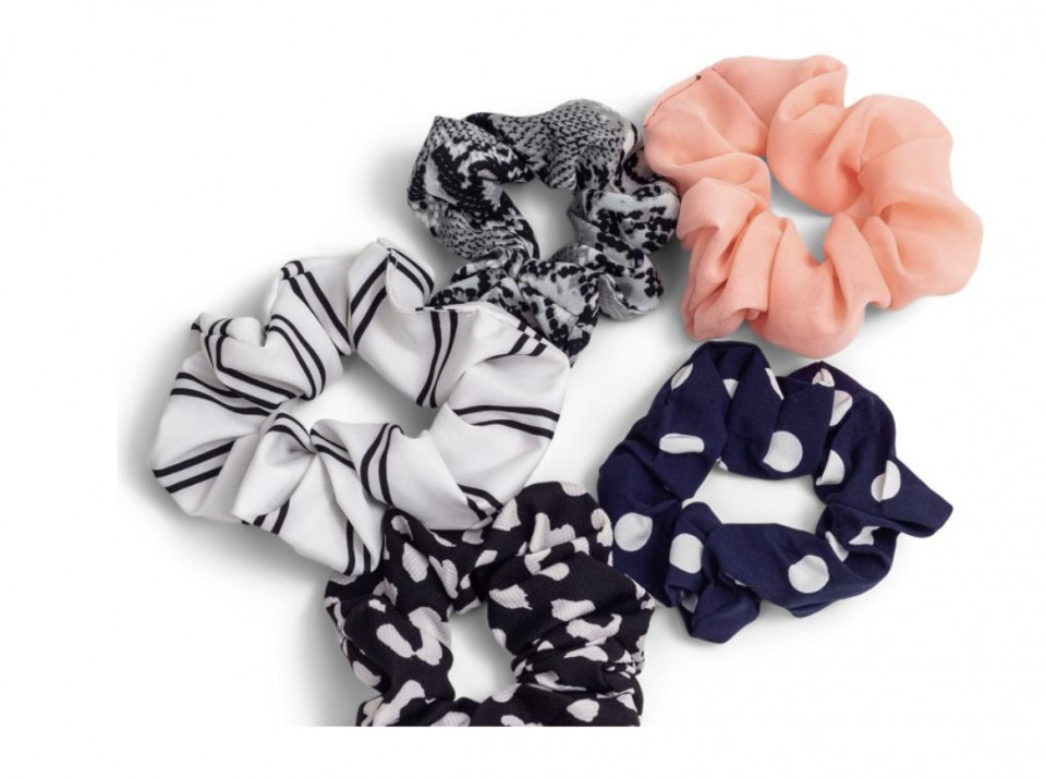 Set de 5 elastice pentru par Zoe Ayla