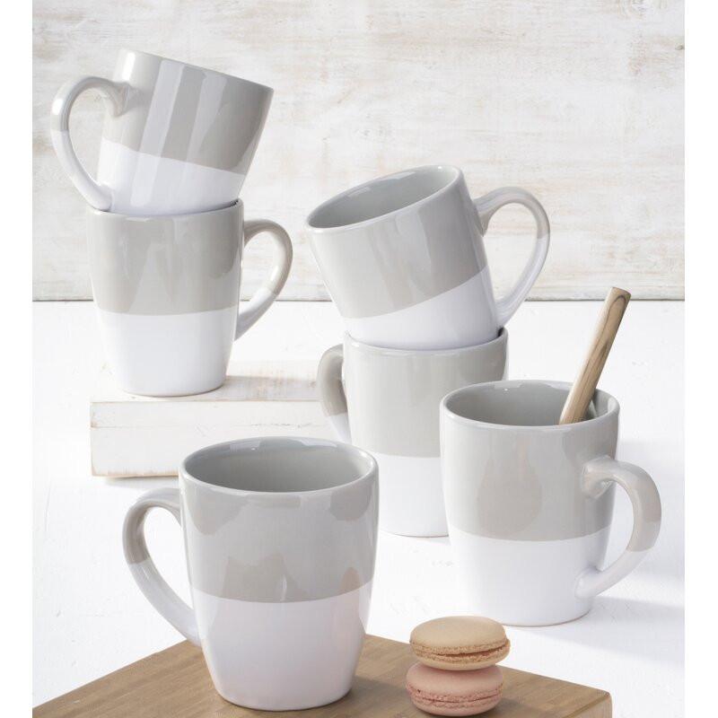 Set de 6 căni de cafea, 340 ml 2021 chilipirul-zilei.ro