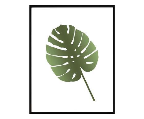 Tablou Leaf II, 30x40 cm chilipirul-zilei 2021